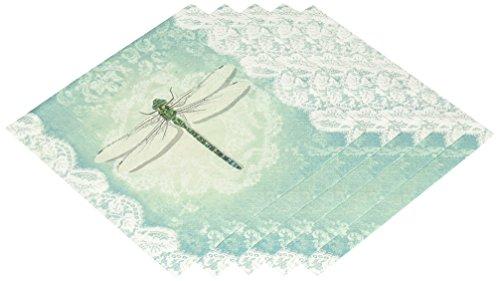 Abbott Collection Spitze Libelle Papier Servietten, groß (20Stück)