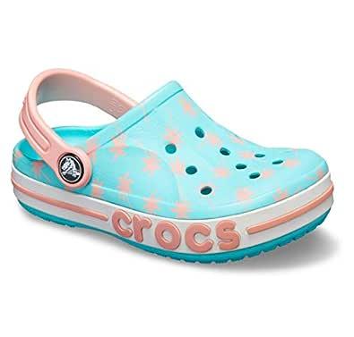 crocs Unisex's Bayaband Seasonal Grphc CLG K Blue Clogs-8 Kids UK (C8) (205621-40M-C8)