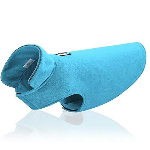 Blue Kostüm Reversible - DOGCATMM Solide Pet Hund Kleidung Winter Haustiere Hunde Kleidung Für Medium Large Hunde Mantel Haustier Overalls Reversible Hund Kostüm Haustiere Produkte Mops