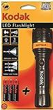 Kodak Plastic LED Focus 157 Flashlight Torch (Black)
