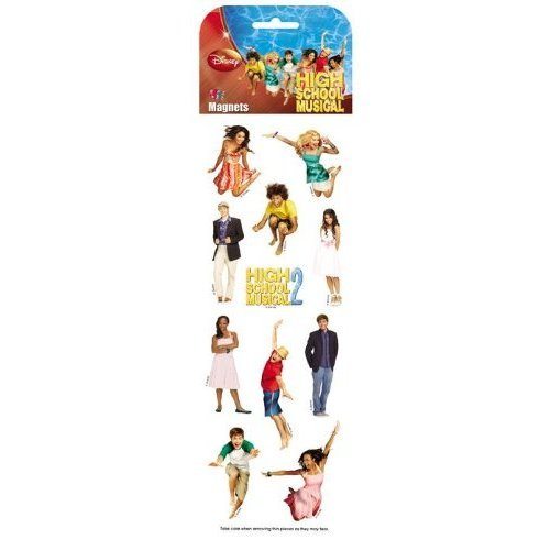 High School Musical 1 Slimline Kühlschrank Magnet-Set - 16960