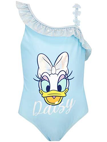 Disney Bañador para Niña Daisy Duck Azul 3-4 Años