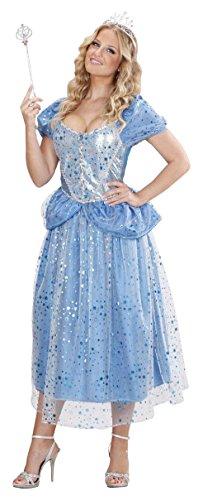 WIDMANN Desconocido Disfraz de Princesita Azul Mujer