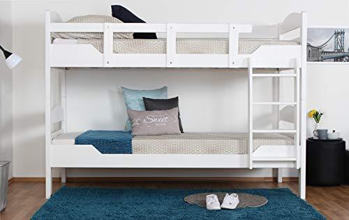 Etagenbett Erwachsene 90x200 : W etagenbett für erwachsene weiß cm nischenhöhe