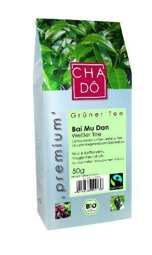 Bio weißer Premium Tee -Bai Mu Dan- lose (Cha Dô) 50g