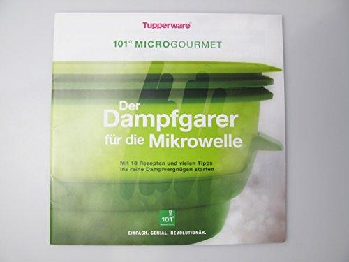 TUPPERWARE Mikrowelle Rezeptheft 'Der Dampfgarer für die Mikrowelle' Heft Kochen
