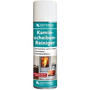 HOTREGA–Limpiador de cristales de chimeneas (300ml de alto rendimiento activo limpiador de espuma para la eliminación hartnäckigster Suciedad