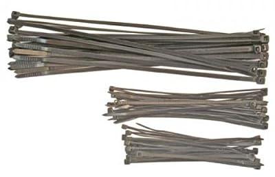 Kabelbinder-Sortiment, 100-200 mm, 75-tlg. von Kraftmann auf Lampenhans.de