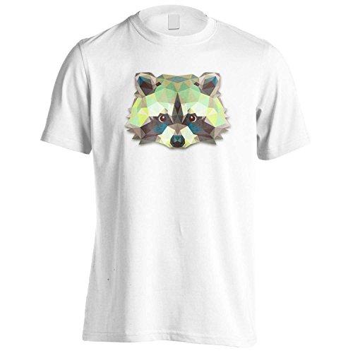 origami-waschbar-tierliebhaber-neuheit-herren-t-shirt-o63m