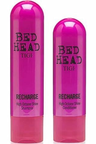 TIGI Bed Head RECHARGE Shampoo (250ml) + Conditioner (200ml) DUO *BRAND (Rich Cura Conditioner)