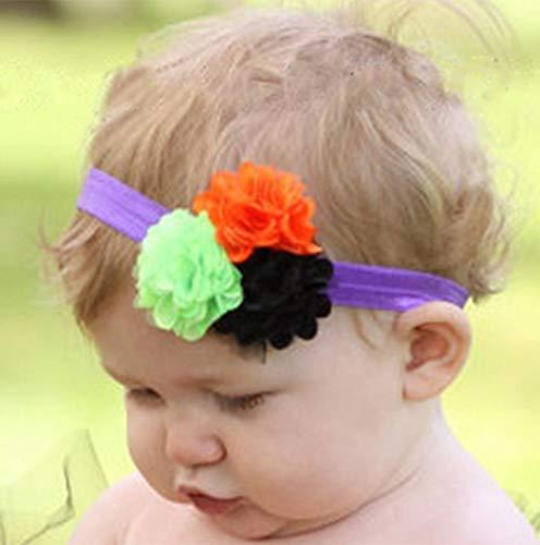 gaddrt Fotografie Requisiten, Babys Halloween Stirnband Bogen Elastisches Haar Kopf Haarband (B)
