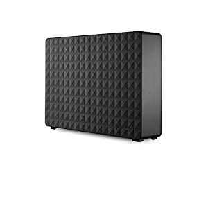 Seagate Expansion Desktop 4 TB External Hard Drive HDD – USB 3.0 for PC Laptop and Mac (STEB4000300)