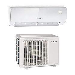 Klarstein Windwaker Eco Split-Klimaanlage - 9.000 BTU/h (2637 Watt), Luftstrom: 610 m³/h, Heiz- und Kühlgerät, selbstreinigend, Energieeffizienzklassen: A++/A+, 5 Betriebsmodi, 3 Schlafmodi