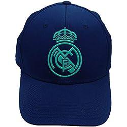 Gorra Azul Marino Adulto Real Madrid - Azul Marino/Turquesa - 2019-2020