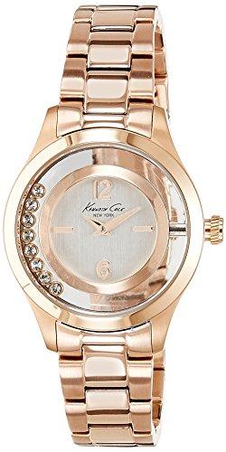 Kenneth Cole Reloj Cronógrafo para Mujer de Cuarzo con Correa en Acero Inoxidable IKC4943