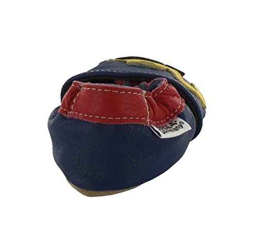HOBEA Digger, Chaussures de Naissance Mixte Bébé Bleu (Bleu)