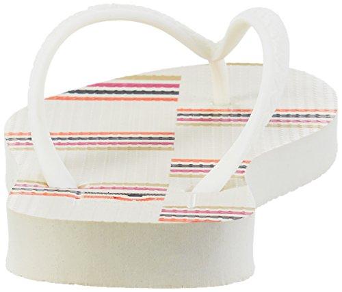 Reef Damen Escape Sandalen Mehrfarbig (Cream Stripes)