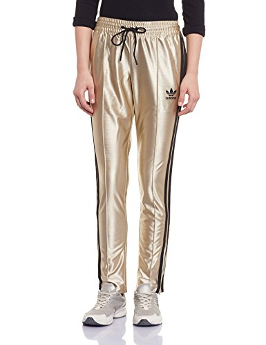 40ca4c3bafed0b ADIDAS STAR TRACKPANTS TRAININGSHOSE FAN BING BING SPORTHOSE GOLD METALL