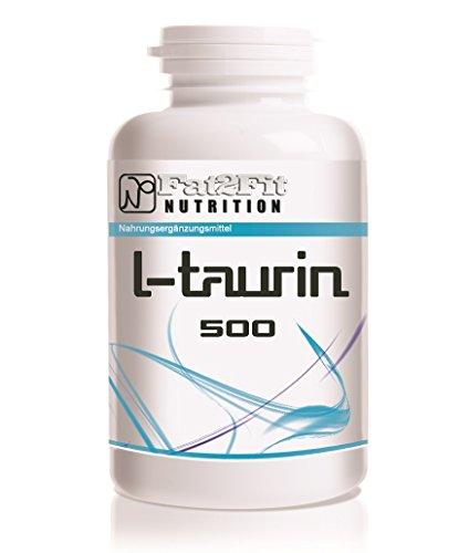 L-Taurin 500mg - 250 Tabletten - Die preiswerte Alternative