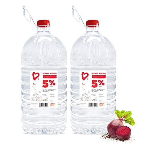 Living Earth 2 x 5 litres | 5% Vinagre Blanco