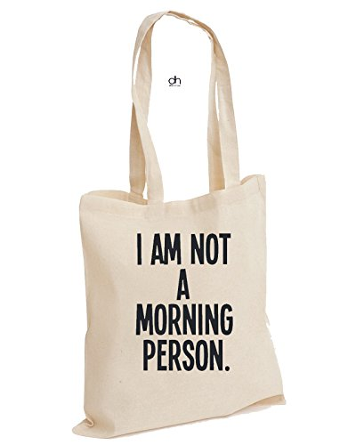 D&H , Borsa da spiaggia , Natural (beige) - DC101COTTONTOTE-MORNING2 Natural