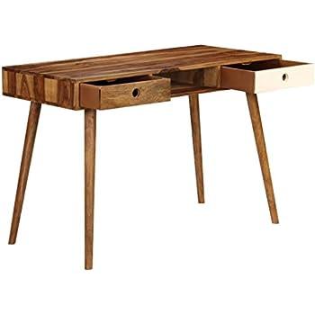 Tidyard Writing Desk Scandinavian With Drawers Modern