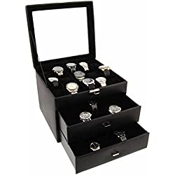 Box for 45 watches wide area