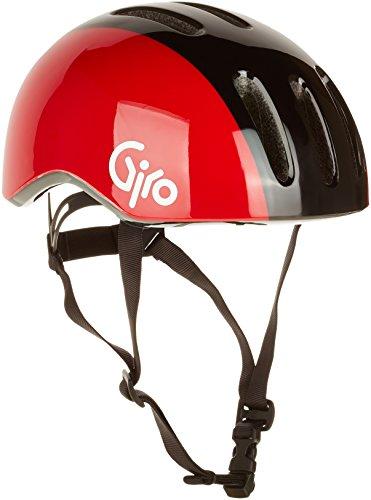 Giro Damen Fahrradhelm Reverb, Black/Red Retro, 51-55 cm, 7055826