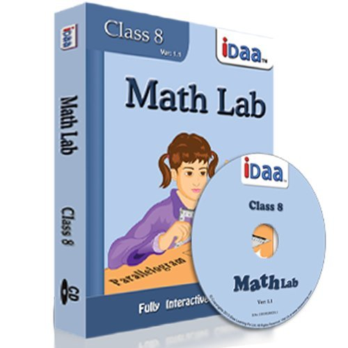 Idaa Class 8 Math Activity Educational CBSE (CD)