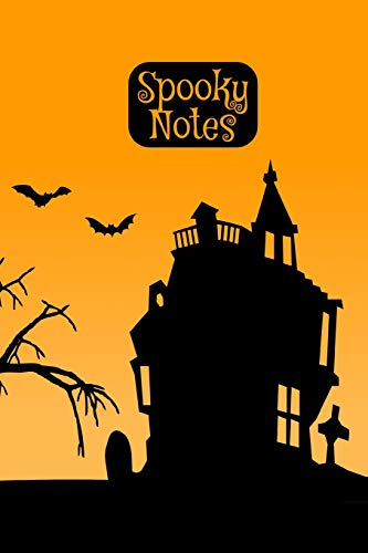 Spooky Notes: Notebook I Bullet Diary I Journal I Diary I 124 blank pages  with table of contents I Halloween Sunrise