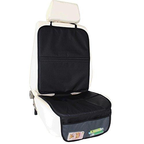 Seggiolino auto Protector | protegge tappezzeria con copertura imbottita tasche