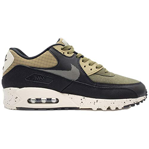Nike Air MAX 90 Premium Hombre Running Trainers 700155 Sneakers Zapatos (UK 12 US 13 EU 47.5, Neutral Olive Black Anthracite 203)