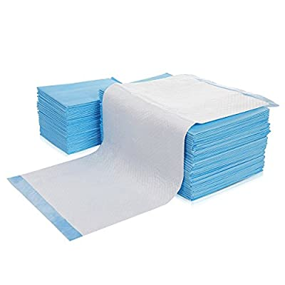 PETCUTE Dog Toilet Training Pads Super Absorbent Mats Toilet Pee Mats For Pet Cat Dog Blue 4Sizes from PETCUTE