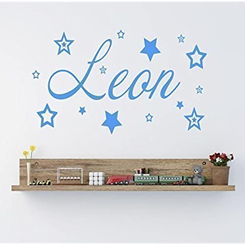 Personalised name wall stickers amazon co uk