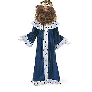 Limit Sport - Disfraz de Rey Melchor con corona para niños (MI075)