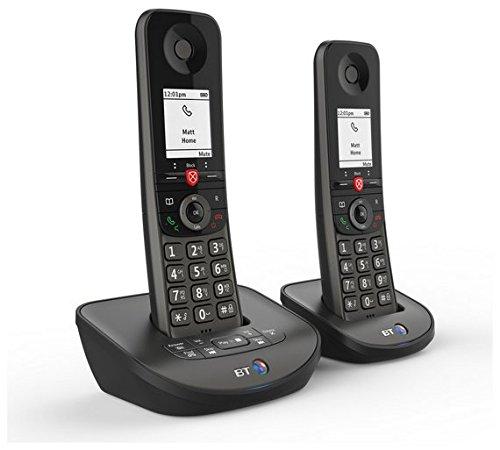 BT Advanced Z Twin Digital Cordless Answerphone with Advanced Call Blocker