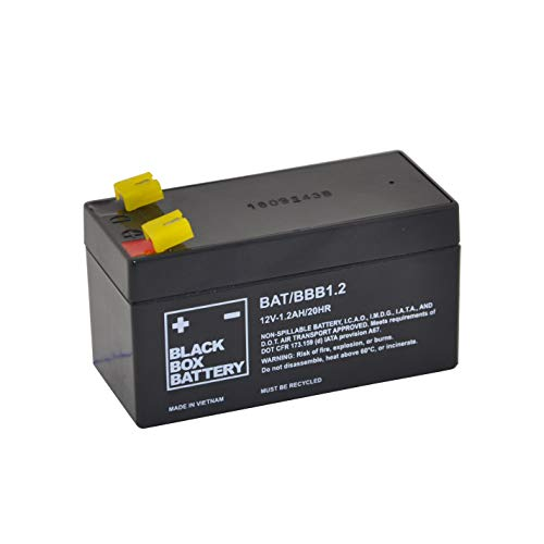 12V 1.2Ah BBB Sealed Lead Acid (AGM) Mobility Scooter Battery