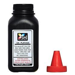 Gps 12A Platinum Quality Toner Powder 1 Bottle 120gms.