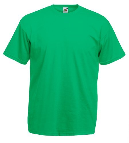 Fruit of the Loom - Classic T-Shirt 'Value Weight' XXL,Kelly Green