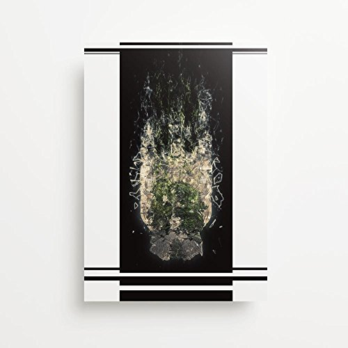 Owl Fractal Forest Giclée Kunstdruck - Owl Giclée Print