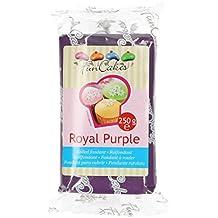 FunCakes VIOLET Fondant - Royal Purple -250 g