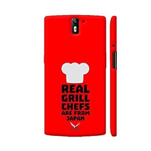 Colorpur Real Grill Chefs are from Japan Printed Back Case Cover for OnePlus One