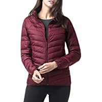 LAPASA Women's Down Jacket - 550FP Duck Down Filling - Featherweight & Warm ❆ Windproof Winter Puffer Coat for Travel, Hiking, Climbing, Skiing L18