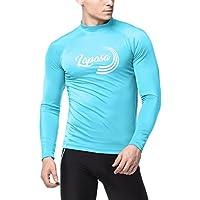 LAPASA Camiseta para Hombre, Manga Larga de Deporte. Tipo Rash Guard, con Protección Solar UPF50+ (M43)