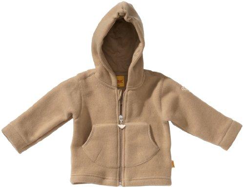 Steiff Steiff Unisex - Baby Sweatjacke 0006837, Gr. 62, Beige (beige)
