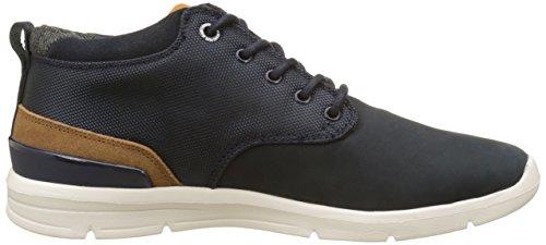 Pepe Jeans London Jayden Cordura, Sneaker a Collo Alto Uomo Blu (Marine)