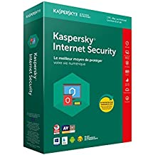Kaspersky Internet Security 2018 | 1 Poste | 1 An | PC/Mac/Android/iOS | Téléchargement