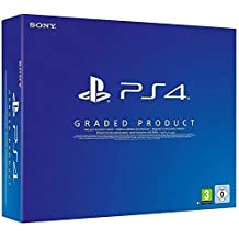 PlayStation 4 - Konsole Slim, Schwarz, D Chassis, 500GB, (Generalüberholt)