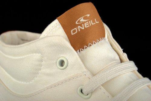 O'Neill - Sneaker PsychoMid canvas, Uomo Beige (Weiß (Off White V00))