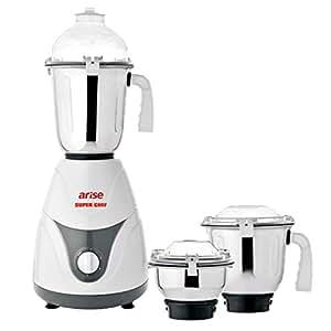 Arise Super Chef 3 Jar Mixer Grinder 750 watt